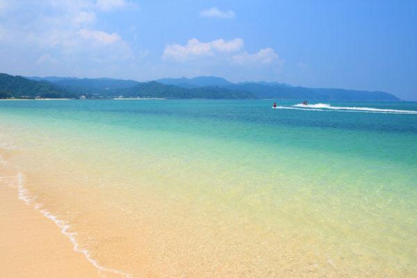 安富祖ビーチ
