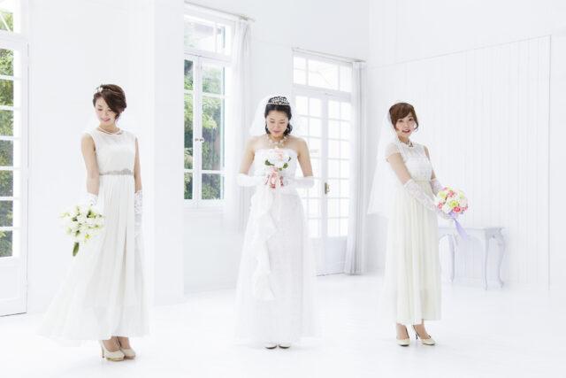 ドレスなどの衣裳の種類が豊富なスタジオを選ぶ